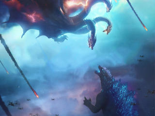 Poster Of Godzilla King of the Monsters wallpaper