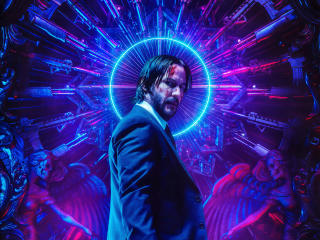 Poster Of John Wick 3 wallpaper