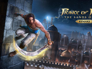 Poster of Prince of Persia The Sands of Time Remake wallpaper