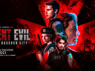 Poster of Resident Evil Welcome To Raccoon City wallpaper