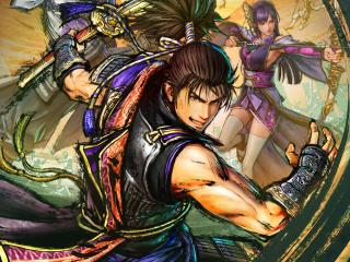Poster of Samurai Warriors 5 wallpaper