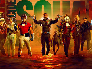Poster of The Suicide Squad wallpaper