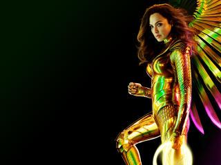 Poster of Wonder Woman 4K wallpaper