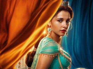 Princess Jasmine in Aladdin Movie 2019 wallpaper