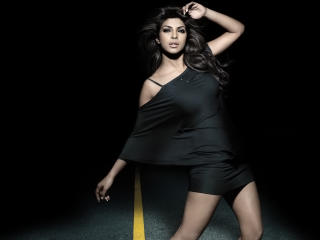 Priyanka Chopra In Hot Sexy Black Dress  wallpaper
