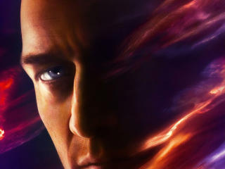 Professor X Dark Phoenix James McAvoy Poster wallpaper
