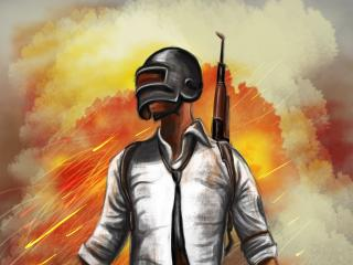 PUBG Drawing wallpaper