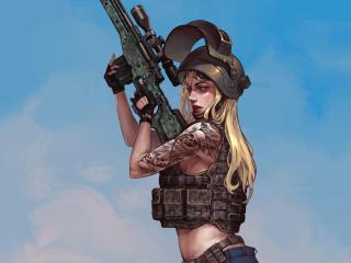 PUBG Fanart Sniper wallpaper