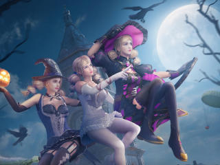 PUBG Halloween Fairy, Enchanter and Enchantress wallpaper