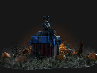 PUBG Halloween Pumpkin wallpaper
