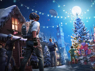 PUBG Mobile Christmas wallpaper