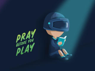Pubg Pray Before You Play wallpaper