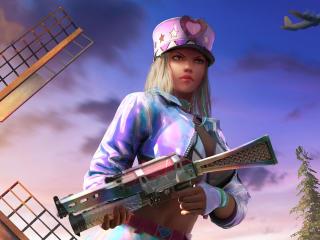 PUBG Sniper Girl wallpaper