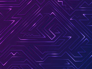 Purple Abstract Art wallpaper