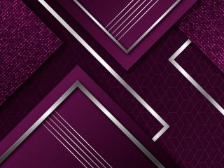 Purple Geometry Art wallpaper