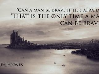 Quotes Braviary Eddard Ned Stark Game Of Thrones wallpaper