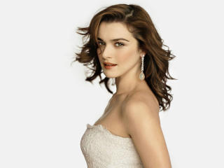 Rachel Weisz Looks Beautiful In White Dress wallpaper