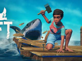 Raft Game Poster wallpaper