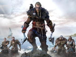 Ragnar Lothbrok Assassins Creed Valhalla wallpaper