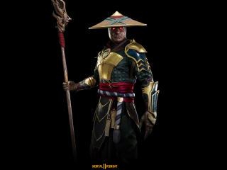 Raiden Mortal Kombat 11 4K wallpaper
