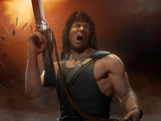 Rambo Mortal Kombat 11 wallpaper