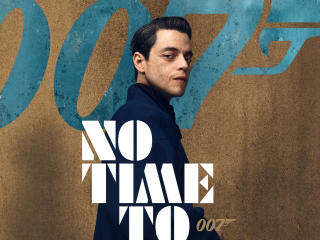Rami Malek No Time to Die Movie Poster wallpaper