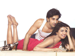 HD Wallpaper | Background Image Ranbir Kapoor with Hot Priyanka wallpapers