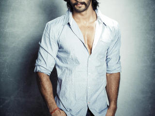 Ranveer Singh In White Shirt  wallpaper