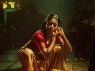 Rashmika Mandanna in PUSHPA Movie wallpaper