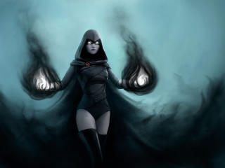 Raven DC Comic wallpaper