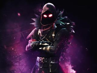 Raven Fortnite Battle Royale 4K background