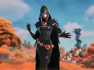 Raven Fortnite Season 6 Skin wallpaper