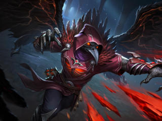 Raven King Chernobog Smite wallpaper