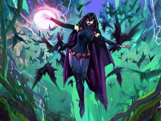 Raven Rebirth Fortnite Chapter 2 Concept Art wallpaper