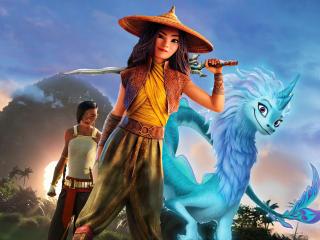 Raya and the Last Dragon Disney wallpaper