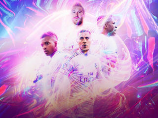 Real Madrid CF Poster wallpaper