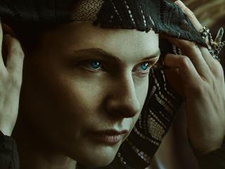 Rebecca Ferguson in Dune 2021 wallpaper