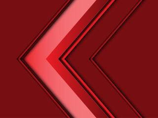 Red Artistic Left Arrow wallpaper