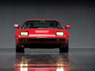 Red BMW M1 wallpaper