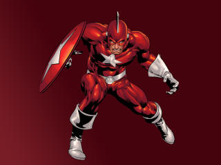 Red Guardian Marvel Comic Art wallpaper