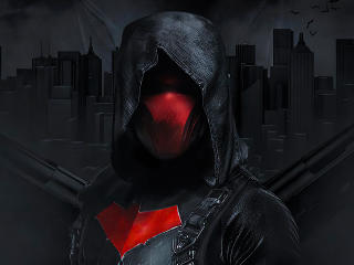 Red Hood DC Comic Art wallpaper