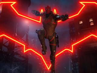 Red Hood Gotham Knights wallpaper