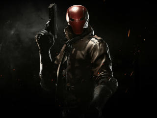 Red Hood In Injustice 2 wallpaper