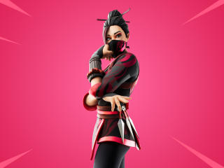 Red Jade Skin Fortnite Outfit wallpaper