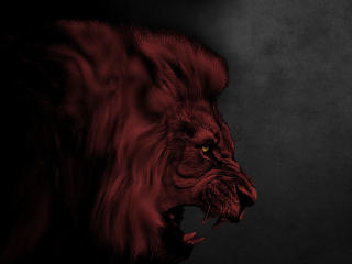 Red Lion Art wallpaper