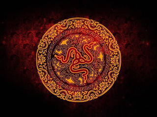 Red Razer Ancient Logo wallpaper