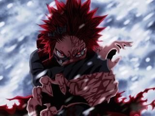 RED RIOT Eijiro Kirishima wallpaper