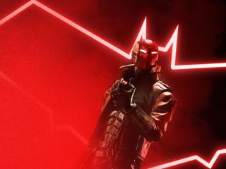 Redhood Gotham Knights Art wallpaper
