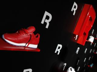 HD Wallpaper | Background Image reebok, sneakers, stand
