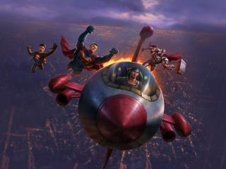 Reign of the Supermen 2019 wallpaper